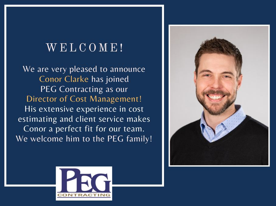 PEG Welcomes Conor Clarke