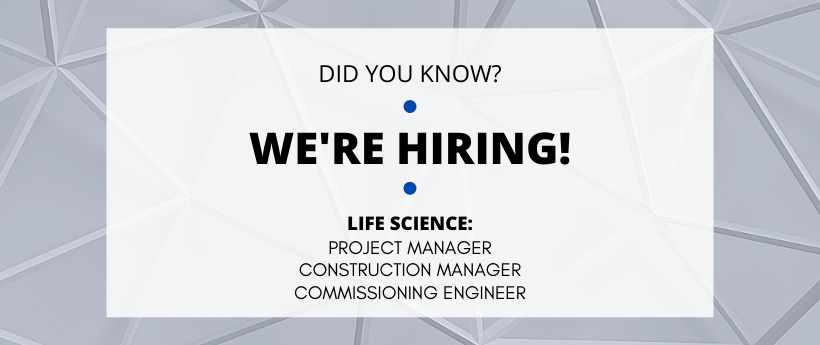 PEG is Hiring for Life Sciences Positions