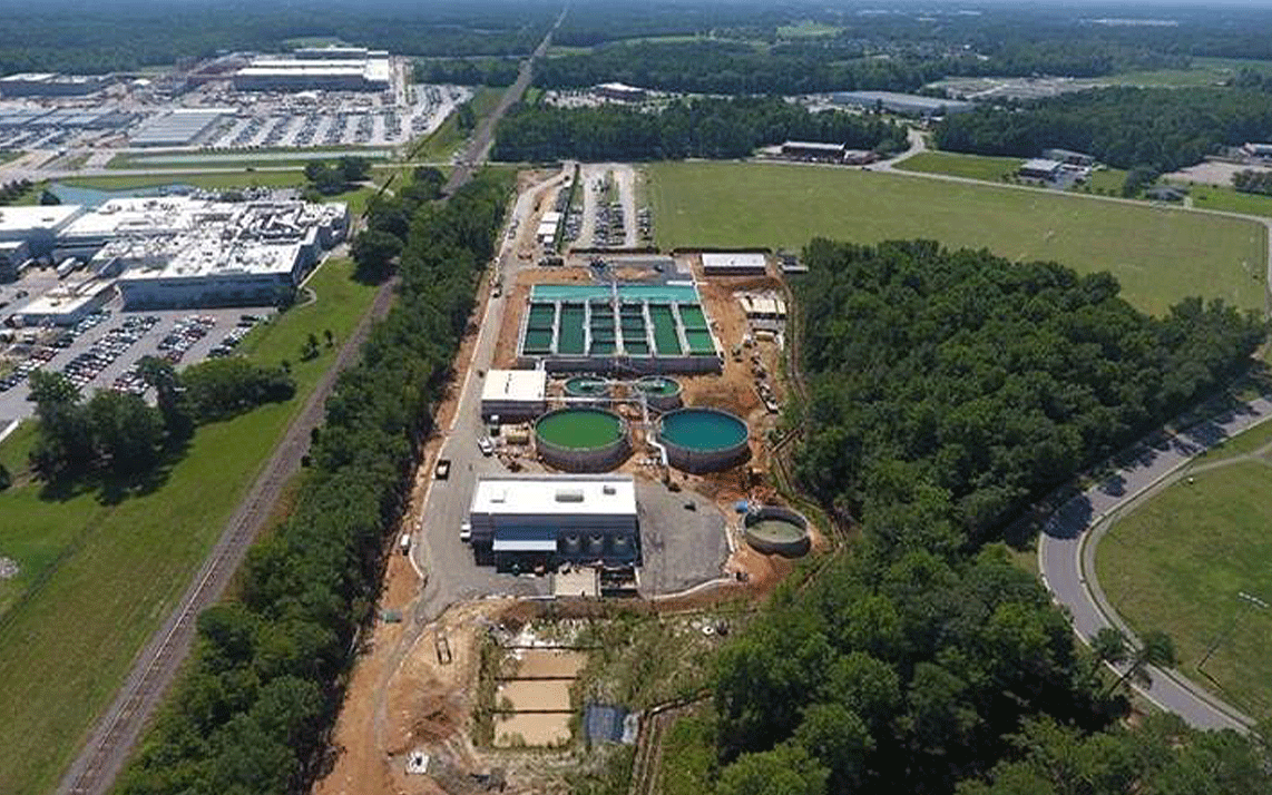 35 North Provides Project Management Services for Novo Nordisk PreTreatment Wastewater Facility in Clayton, NC