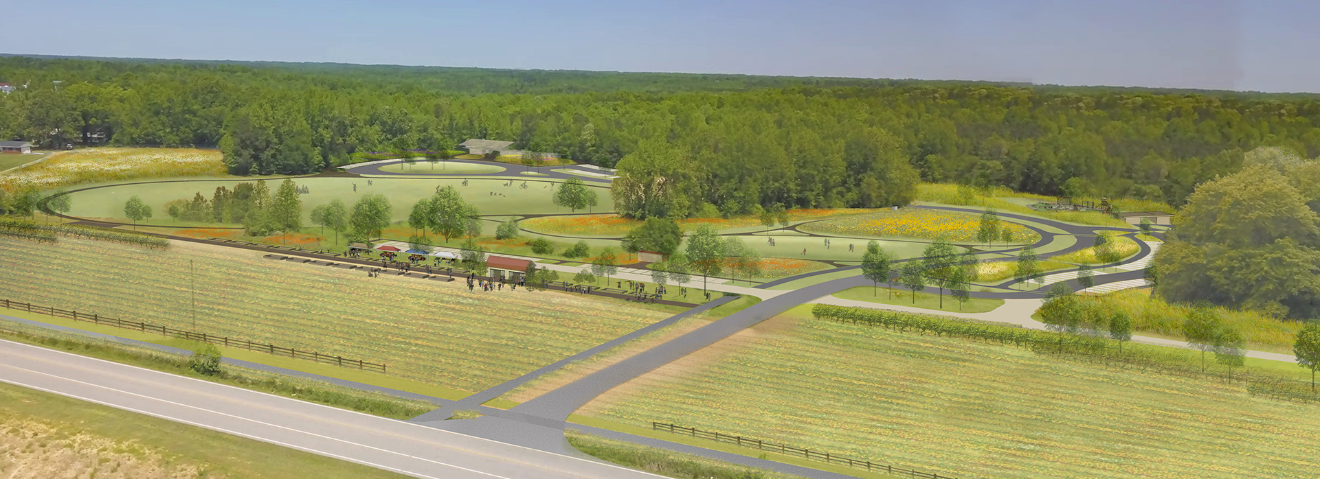 35 North Provides Cost Estimating Services to the Wake County Parks Recreation and Open Space for the Beech Bluff County Park project in Wake County, NC