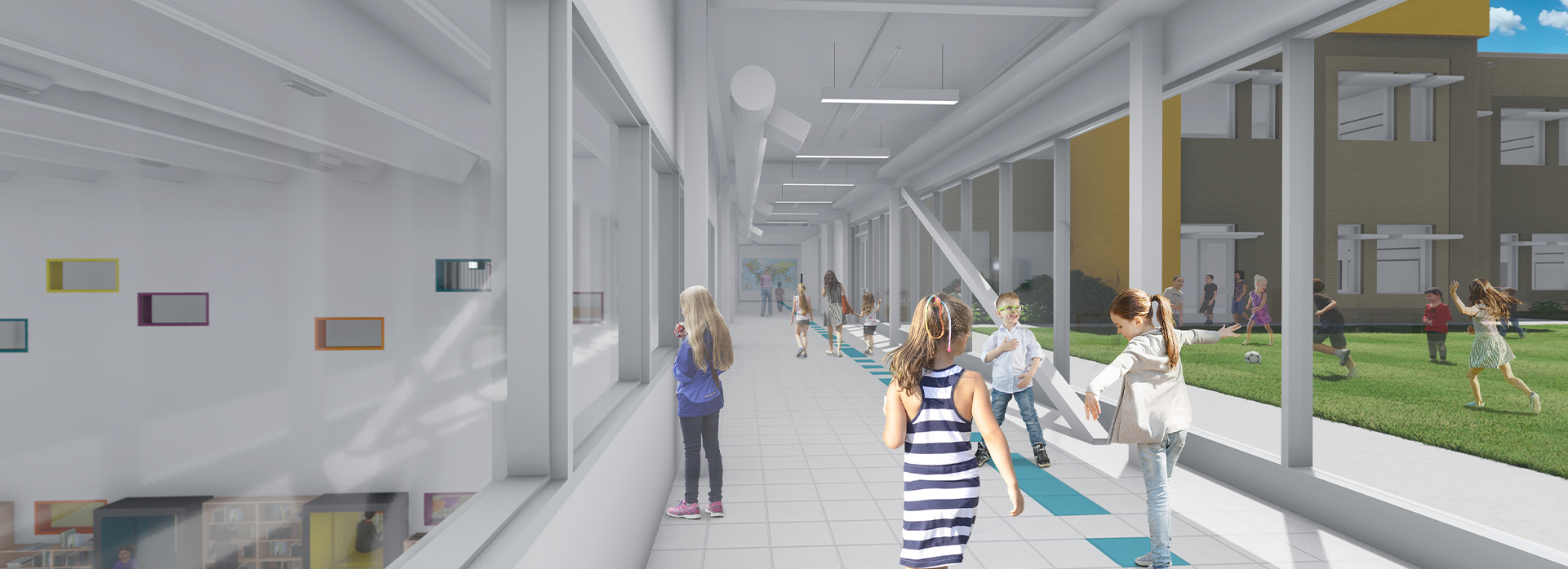 35 North Provides Cost Estimating Services to the Wake County Public School System for the Renovation of Conn Elementary School in Raleigh, NC