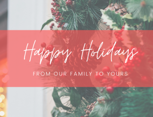 Merry Christmas and Happy Holidays from PEG!