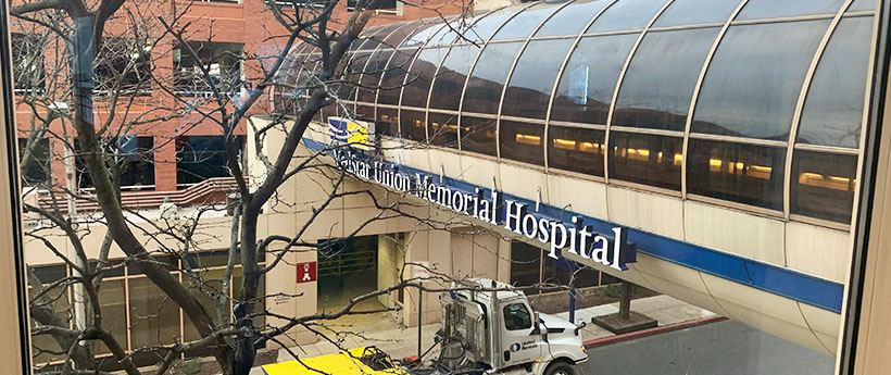 35 North Teams Up with Muellers Associates to provide Cost Estimating services for the Emergency Power Distribution at Medstar Union Memorial Hospital in Baltimore, Maryland