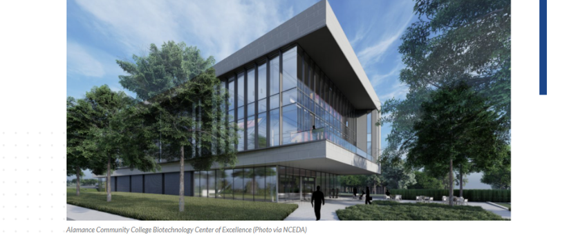 35 North Provides Cost Estimating Services for Alamance Community College's Biotechnology Center of Excellence