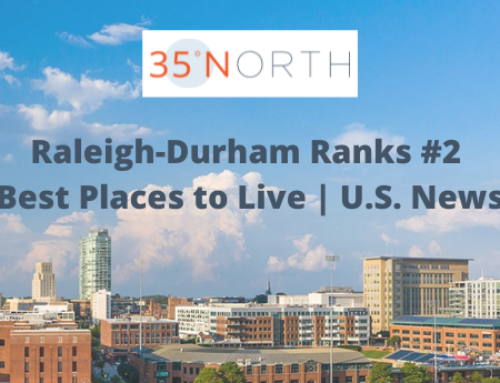 Raleigh-Durham Area Ranks #2 Best Place to Live in the US 2021-2022