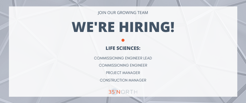 35 North is Hiring for Life Sciences Positions